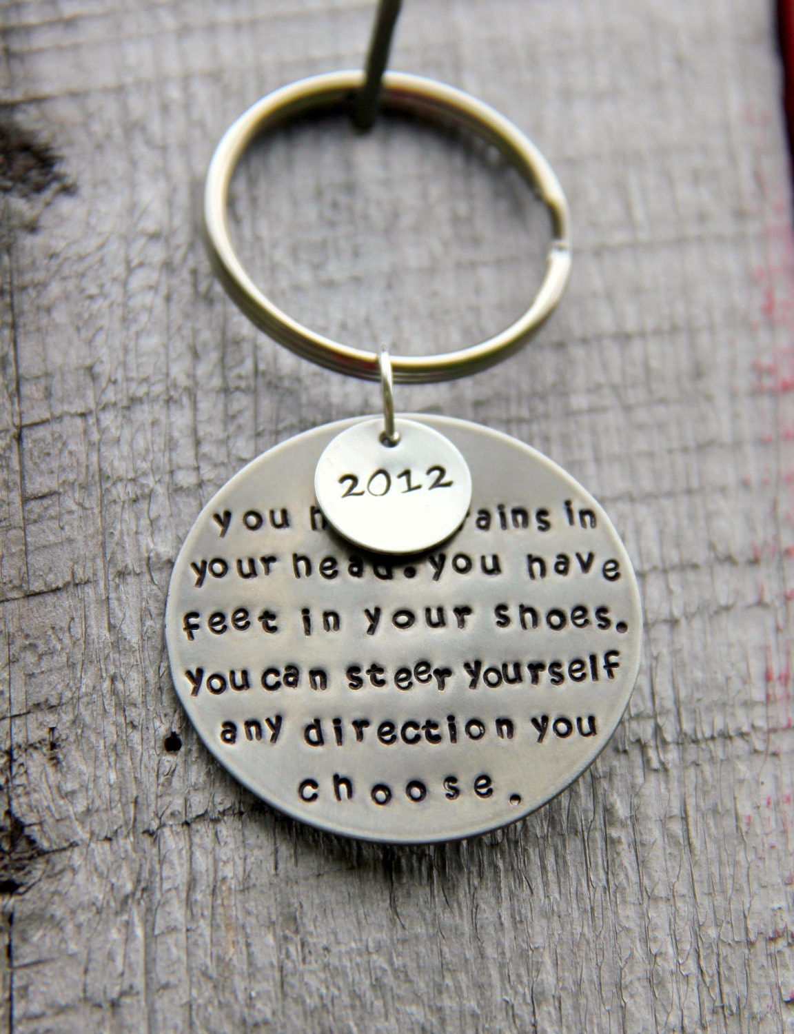 Dr Seuss Key Chain Grad Gift For Him Seuss Quotes Gift For