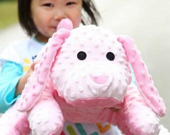 Custom Personalized Stuffed Puppy - Large