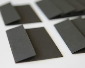 NEW Mini Envelopes - Set of 10 - Black