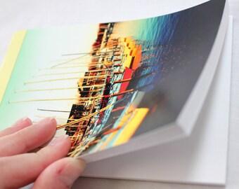 Notebook/Sketchbook/Journal - 4x6 - Golden Sails - Original Photograph