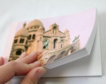 Notebook/Sketchbook/Journal - 4x6 - Le Sacre Coeur - Original Photograph
