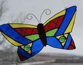 Colorful Butterfly Suncatcher