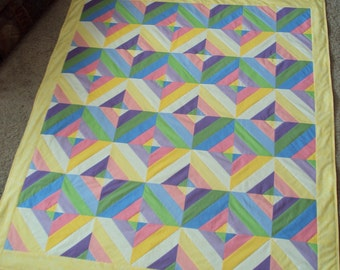 Pastel Diamonds quilt