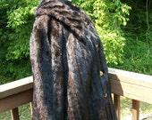1970s Lane Bryant Faux Fur Coat. 3x-4x