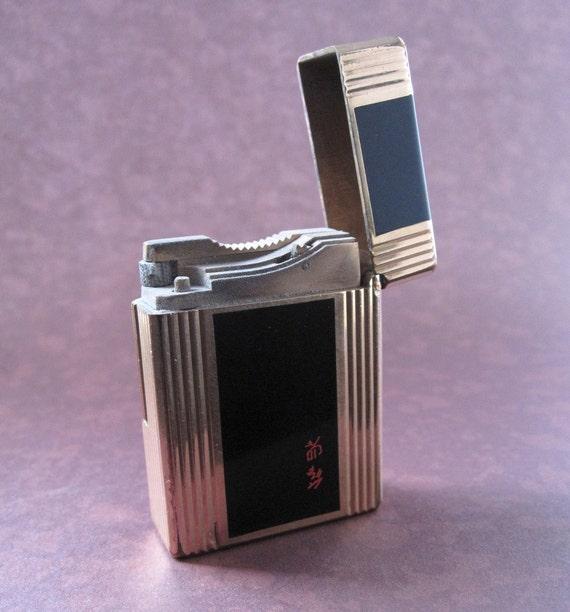 ST Dupont gold-plated cigarette lighter, 1950s