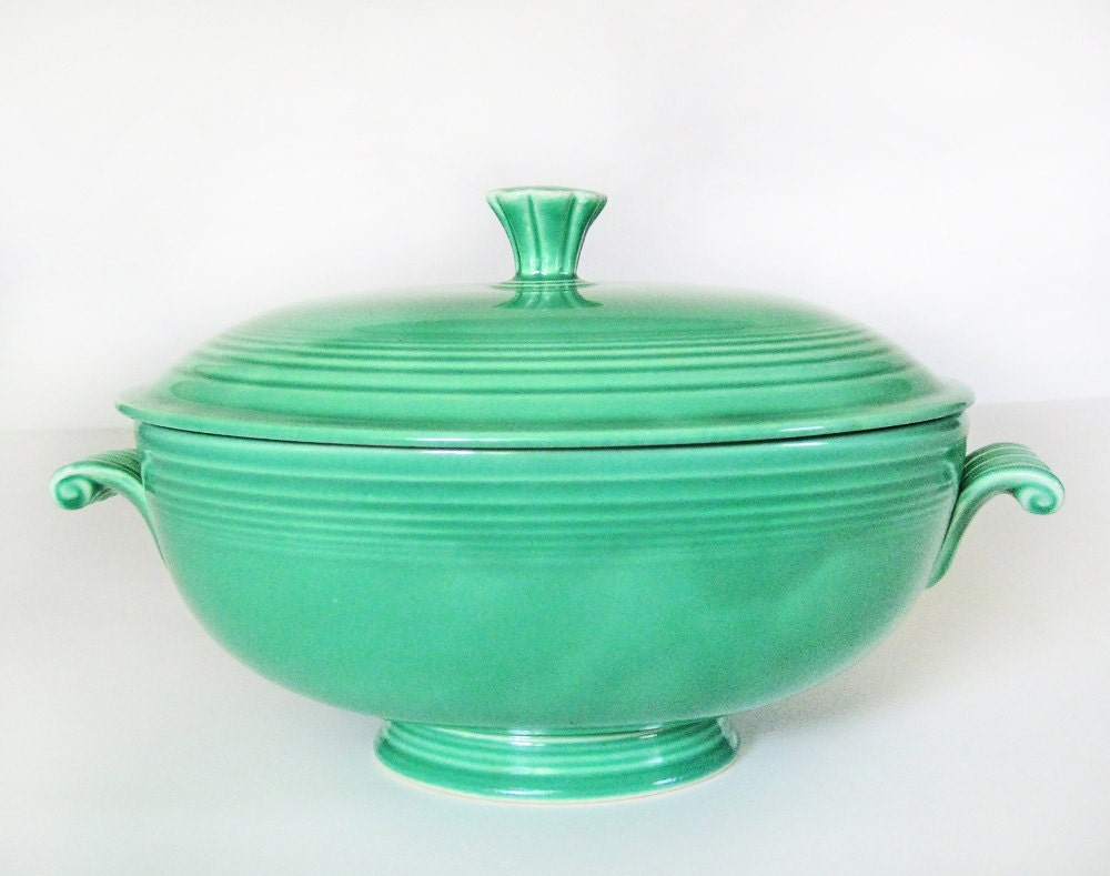 Fiesta Ware Casserole Dish In Original Green Vintage Homer Watermelon Wallpaper Rainbow Find Free HD for Desktop [freshlhys.tk]