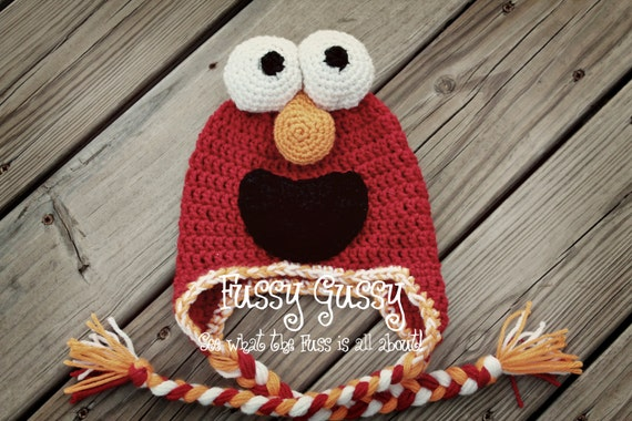 Momo the Tickle Monster - CROCHET PATTERN -