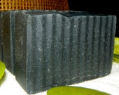 Bamboo Activated Charcoal Soap Enriched with Shea Butter- For Acne Oily Problematic Skin Care