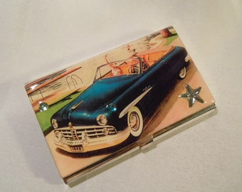 Business Card Holder 1949 Lincoln Convertible
