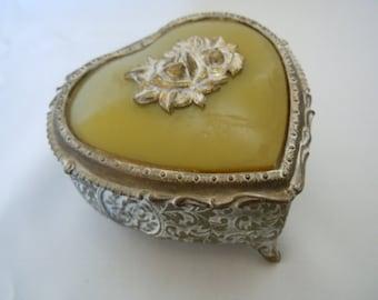 Vintage Jewelry Box Mele Ring Storage