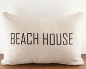 Beach House - Linen Cushion Cover - 12x18