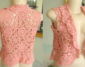 Bolero handmade in crochet