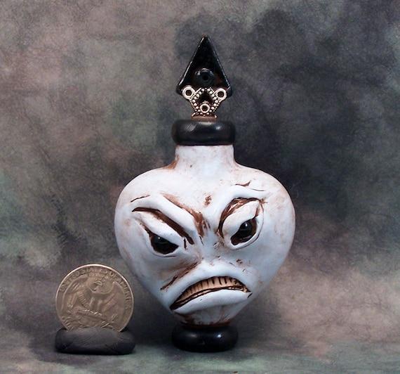 Meanie Monster Heart Potion Bottle