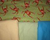Cloth Wipe Package- 50 Monkey wipes
