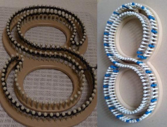 Loom Knitting Questions : Loom knit afghan pattern striped quot x