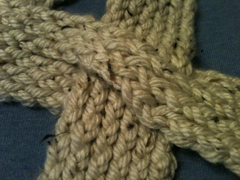 Keyhole Scarflette Knitting Pattern : Loom Knit Keyhole Scarf PATTERN