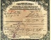 PROHIBITION Prescription WHISKEY 1920s Albert William Arnold Flemington PA Drug Pharmacy Bar
