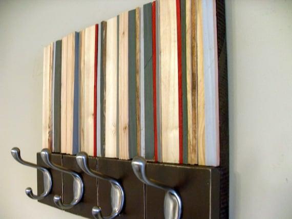 Coat Rack - Reclaimed Wood Coat Hanger - 14x11