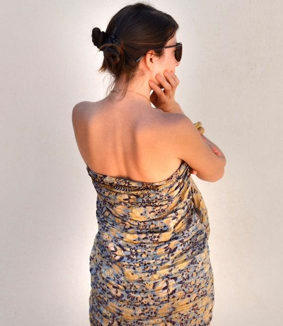 Summer Time...silk  Pareo...sunny... sand...woman accesories Recycled Silk Sari... FASHION Pareo...AZ