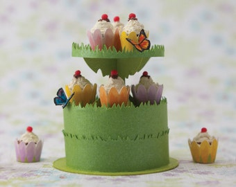 Miniature Dessert Tower Kit: Fluttery Butterfly