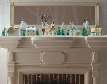 Glitter House Village Set - One Inch Scale Kit
