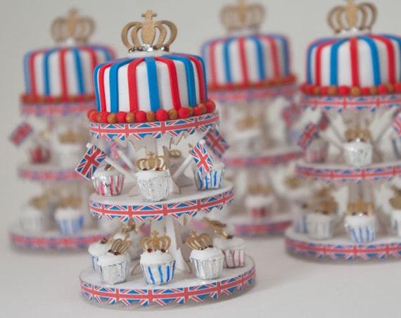 Diamond Jubilee Miniature Dessert Tower
