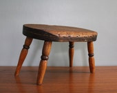 Early Primitive Milking Stool