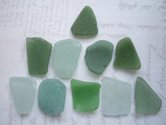 Sea Green Scottish Beach Glass SG187