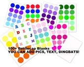 100 plus Bottlecap BLANKS. You add what YOU WANT. Emailed within 24 hours