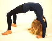 Childrens  Leggings - Girls Tights - Yoga Dance Gymnastics - Several Colors - Organic Clothing -  Eco Friendly