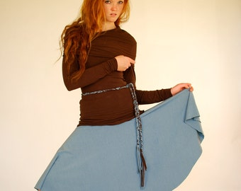 Circle Skirt - Women's Skirt- Several Colors Available  - Eco Friendly - Organic Clothing