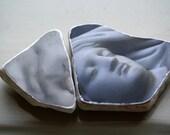 Luise Sleeps Original Photo Stones Set of Two