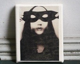 Masking the Masked Canvas Art Wall Hanging