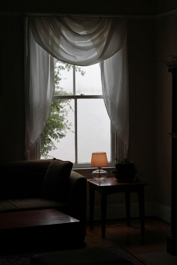 BOGO Sale Fog From My Window Signed Fine Art Photograph Size 7 by 9.5