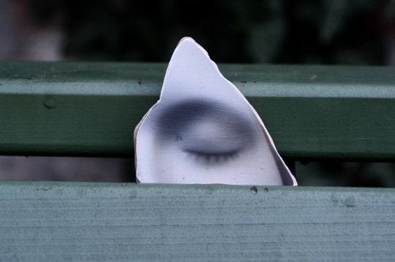 L'Inconnue de la Seine Photo Stone The Eye No 2