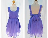 A Party - Cocktail Prom Party Dinner Wedding Night Dress Asymmetric Hem Lilac Violet Sweet Gorgeous Glamorous Dress