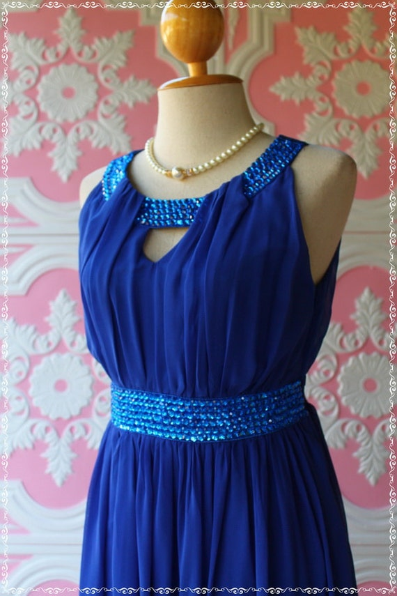 Own The Night II - Cocktail Prom Party Dinner Night Wedding Dress - Hand Sewn Crystal Beads