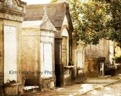 New Orleans Photo - Fine Art Photography, New Orleans, print, graves, graveyard, cemetery, death, Lafayette Cemetery, haunted, art, decor