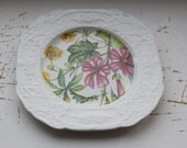 Vintage Wedgewood Beautifully Decorated Floral Plate - Treasury Item