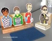 Big Bang Theory PDF Paper Doll Set