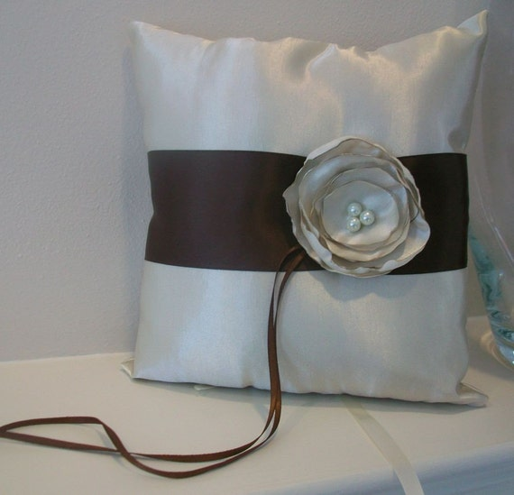Elegant Alexis Ring Bearer Pillow Ready to ship