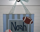 Personalized Baby Door Sign