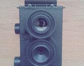 Handmade 35mm Twin-lens reflex TLR camera