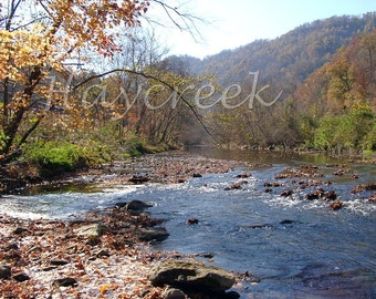 Paint Creek West Virginia --- 5 x 7 --- Fine Art Photograph