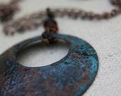 Copper Necklace - Sea Falls
