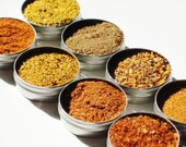 Labor Day SALE Gourmet Dry Spice Rubs - gourmet variety of 8 delicious spices - grilling / cooking