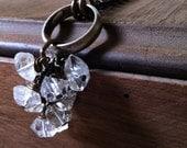 Herkimer Cluster Necklace