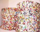 Custom Made Recycled Paper Bins made from Recycled Paper