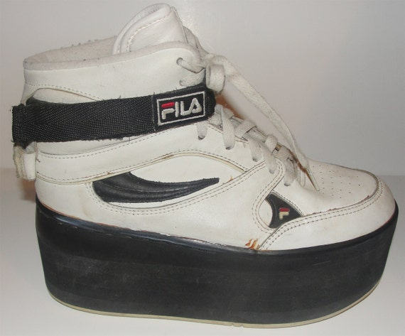 RARE Party Monster Club Kid Fila Platform Sneakers Size 7 or 8