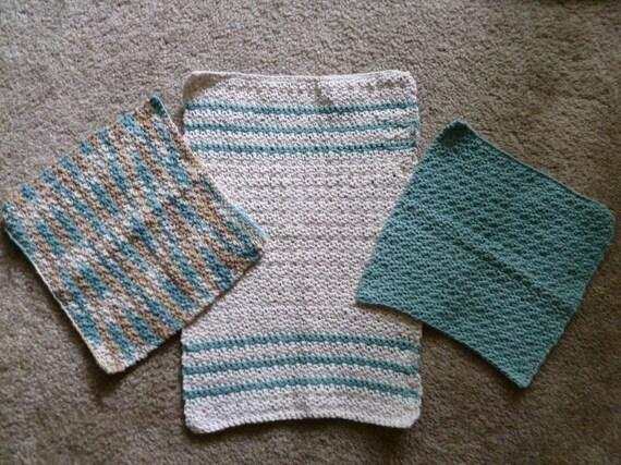 Tea Towel and Dishcloths